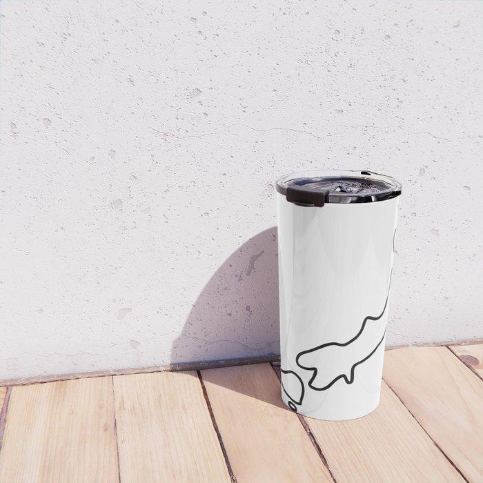 Japan Japanese map Travel Mug