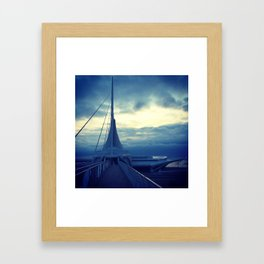 Milwaukee Morning Framed Art Print