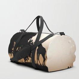 Nature silhouettes Duffle Bag