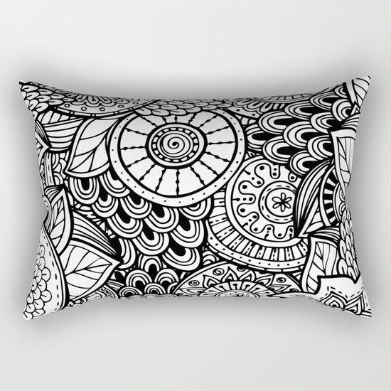 Kalakusar v2 #society6 Rectangular Pillow
