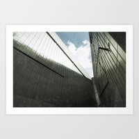 jewish Art Prints featuring Jewish Museum Berlin by Martin Llado
