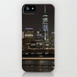 NYC Skyline from the Jersey Side iPhone Case