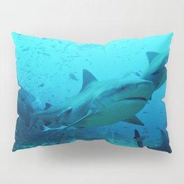 magnificent bull sharks Pillow Sham