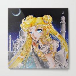Princess Serenity by Suki Manga Art Metal Print