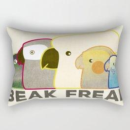 Beak Freak Rectangular Pillow