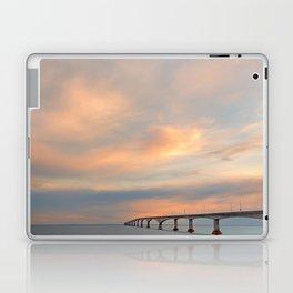 Sunset Sky Bridge Laptop & iPad Skin