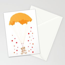 Landing Bear Stationery Cards
