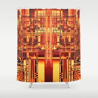 persona Shower Curtains featuring PERSONA by Helyx Helyx
