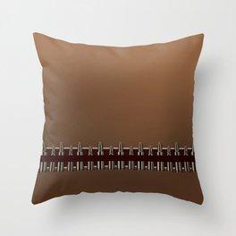 Bullet Belt Throw Pillow