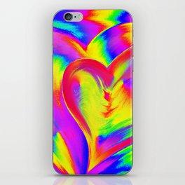 Double Heart beat iPhone Skin
