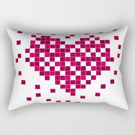 Red heart. Rectangular Pillow
