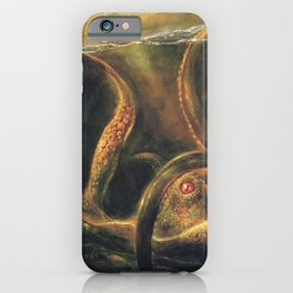 Norse Myths Kraken Sea Monster iPhone Case