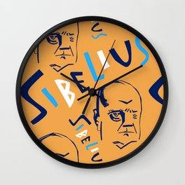 Jean Sibelius (2) Wall Clock