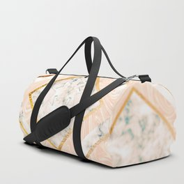 Paper doves on marble Duffle Bag