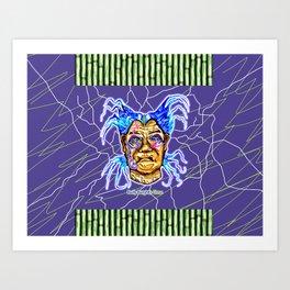 Bwilly Bwightt's Circus TM Member - Nosy Mertle  Art Print
