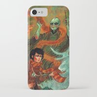 deathly hallows iPhone & iPod Cases featuring The Deathly Hallows by Angela Rizza