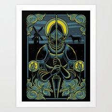 Don Quixote Art Print