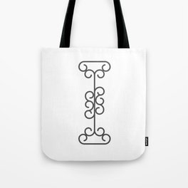 """Letter """"I"""" in beautiful design Fashion Modern Style Tote Bag"""