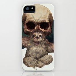 Sloths, Goths, and Moths iPhone Case