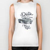 mustang Biker Tanks featuring Mustang dream by dareba