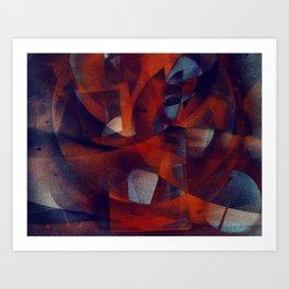 disquiet twenty seven (alma em tumulto) Art Print