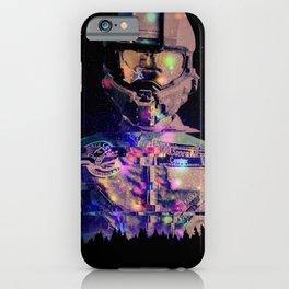 Giant Spaceman iPhone Case