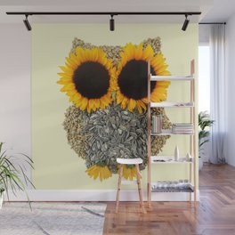 Hoot! Day Owl! Wall Mural