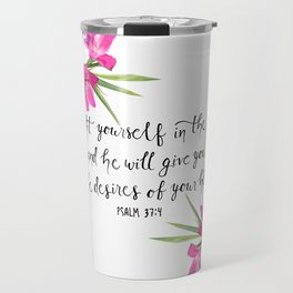 Psalm 37:4 Travel Mug