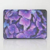 hydrangea iPad Cases featuring Hydrangea by Christine Hall