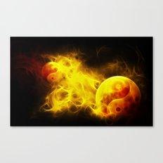 Karma Flames Canvas Print
