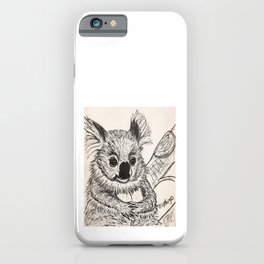 Cutie Pie Koala iPhone Case