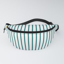 Forget Me Not Blue Pinstripe on White Fanny Pack