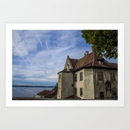 Meersburg, Germany Art Print