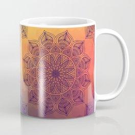 Peach Mandala Coffee Mug