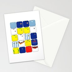World In Motion II Stationery Cards
