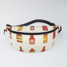 Hot Sauces Fanny Pack
