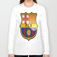 barcelona Long Sleeve T-shirts featuring BARCELONA by Acus