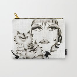 Glamour woman! Carry-All Pouch