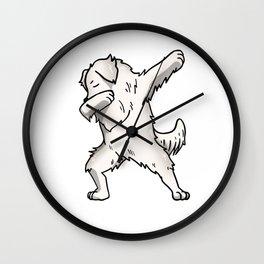 Funny Dabbing Great Pyrenees Dog Dab Dance Wall Clock