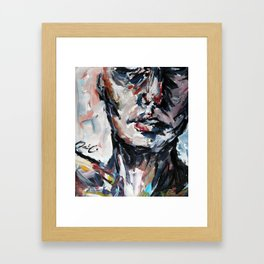 Color Study Framed Art Print
