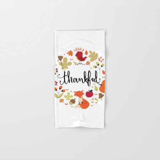 THANKFUL Hand & Bath Towel