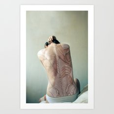 Dissection of it All Art Print