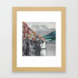 Remembering Last Summer Framed Art Print
