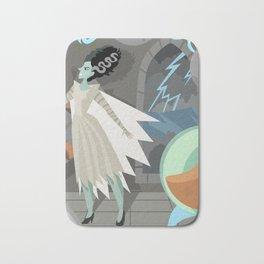 undead bride on secret laboratory Bath Mat