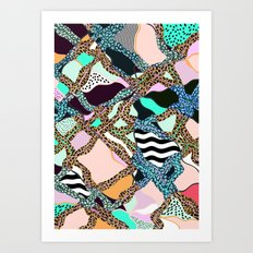 ELECTRIC VIBES Art Print
