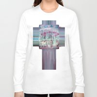 carousel Long Sleeve T-shirts featuring Carousel by Heidi Fairwood