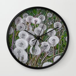SEEDS OF DANDELION Wall Clock