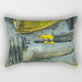 Buddha in Thailand Rectangular Pillow