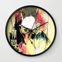 Pure Gonzo Wall Clock
