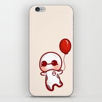 baymax iPhone & iPod Skins featuring BAYMAX by meiisita
